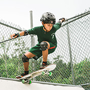 Skateboarding at Robin Hood Camp