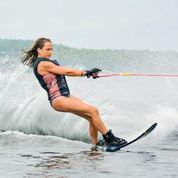 Waterskiing at Robin Hood Camp