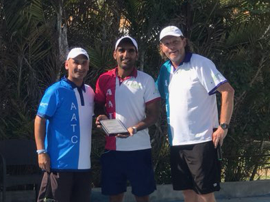Robin Hood tennis director Arpan Trivedi earns PTR India President's Award