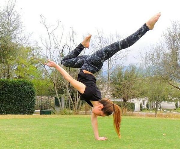 Robin Hood gymnastics coach Christina Gutierrez