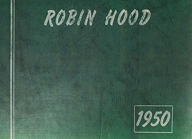 Robin Hood Camp 1950 Yearbook