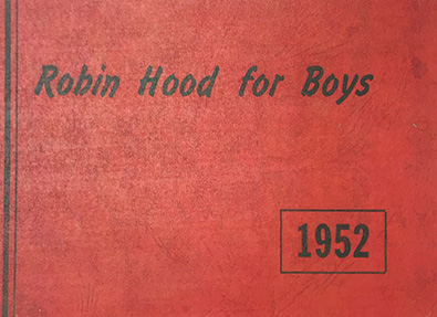 Robin Hood Camp 1952 Yearbook
